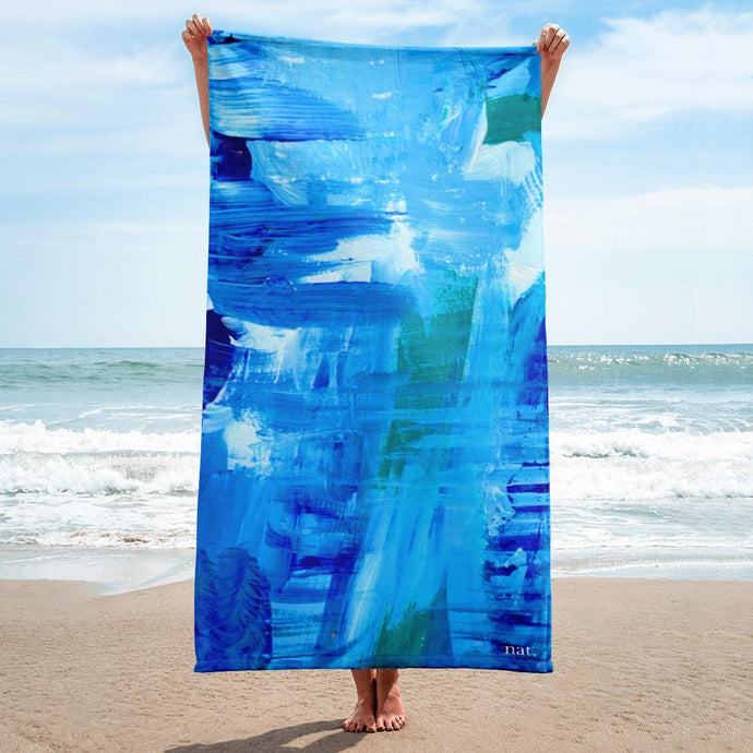nat. surfing towel - nat. live in art