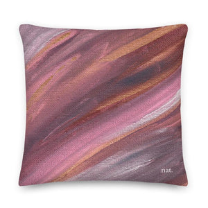 XL Cushion 'listening' - nat. live in art