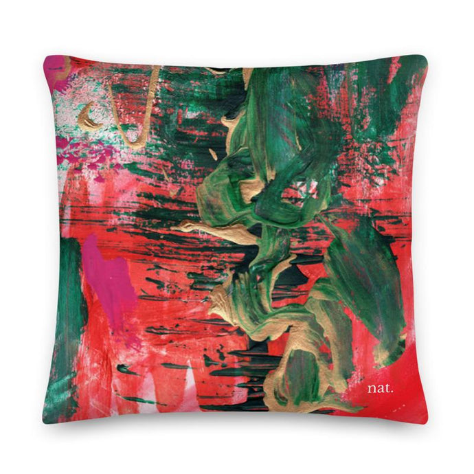 XL Cushion 'melting' - nat. live in art