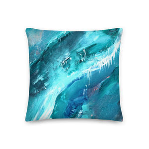 Regular Cushion 'icing' - nat. live in art