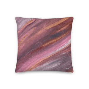 Regular Cushion 'listening' - nat. live in art