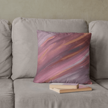 Load image into Gallery viewer, Regular Cushion 'listening' - nat. live in art