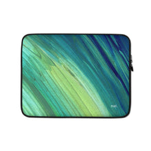 Load image into Gallery viewer, seaweeding laptop sleeve - nat. live in art