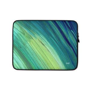 seaweeding laptop sleeve - nat. live in art