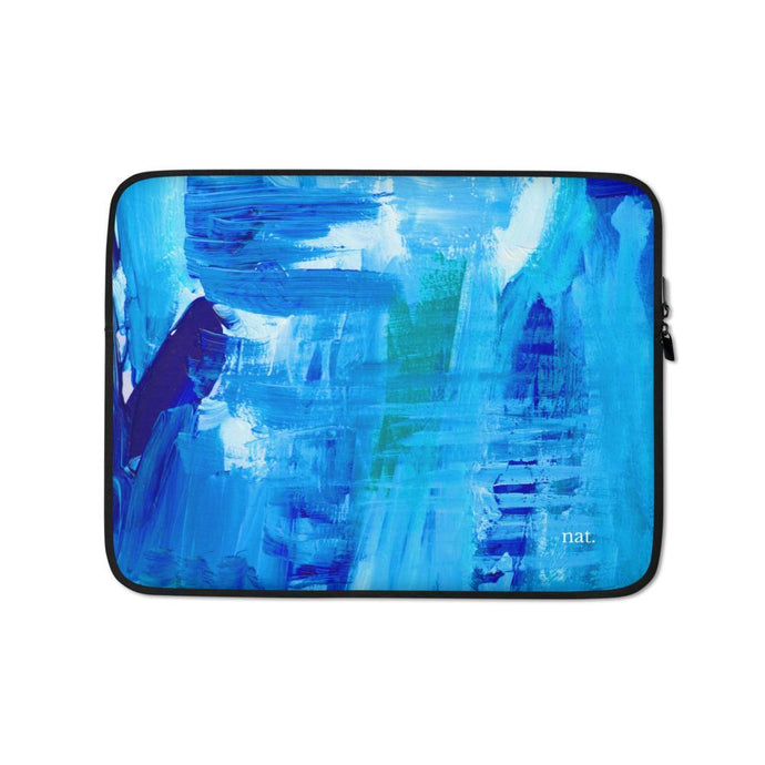 surfing laptop sleeve - nat. live in art