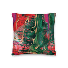 Load image into Gallery viewer, nat. melting reg. cushion - nat. live in art