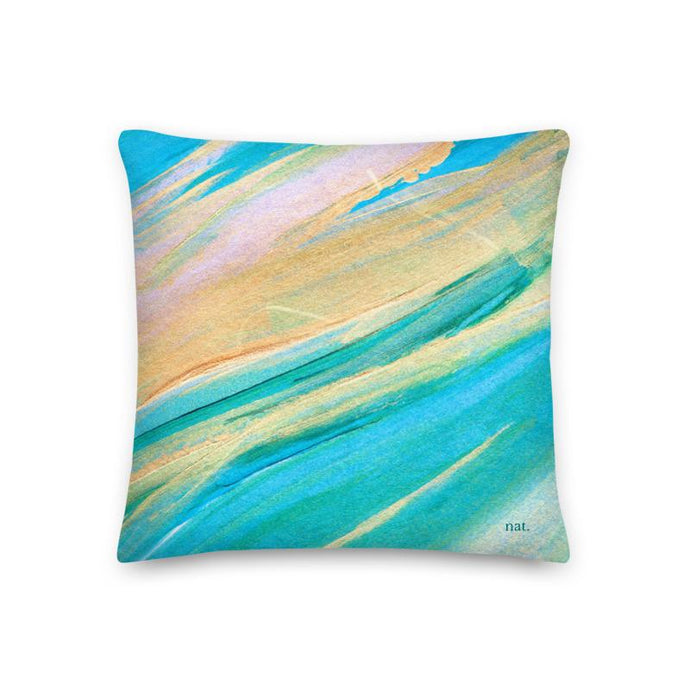 Regular Cushion 'golding' - nat. live in art