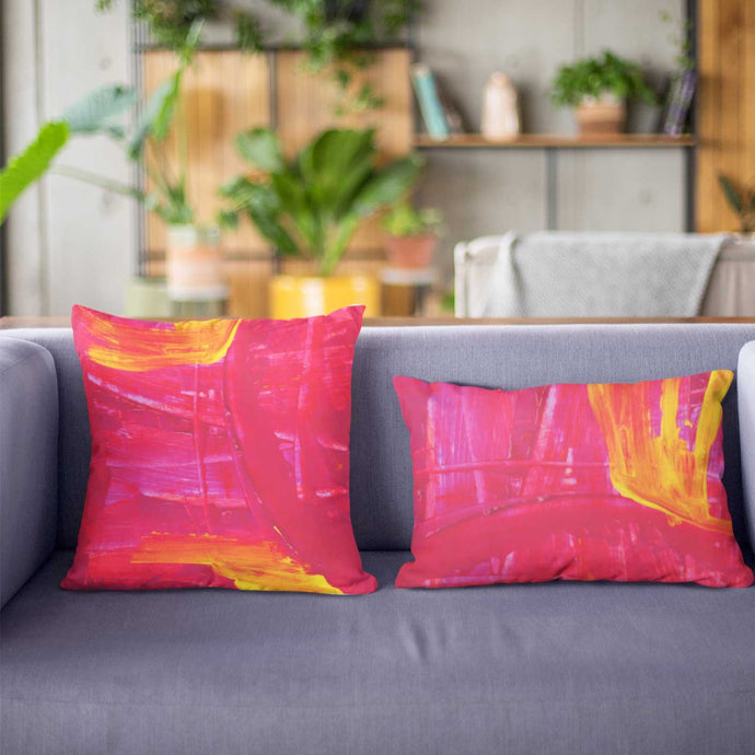 Wide Cushion 'strengthening' - nat. live in art