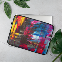 Load image into Gallery viewer, Laptop Sleeve 'Hintertux' - nat. live in art