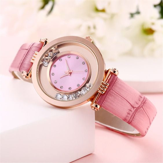 Shiny Flowy Ball Watch