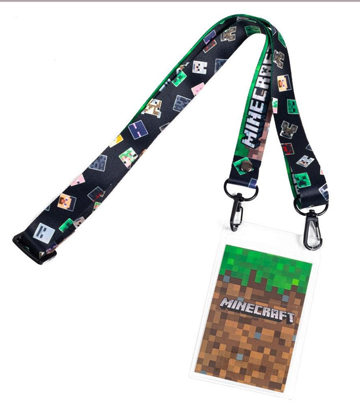 MINECRAFT MULTI-CHARACTER LANYARD