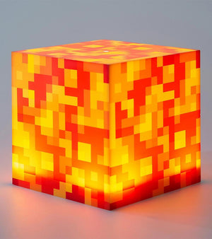 MINECRAFT LAVA BLOCK MOOD LIGHT