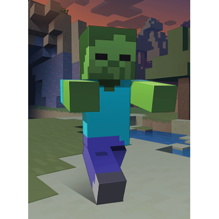 Minecraft Zombie Unisex Hooded Sweatshirt