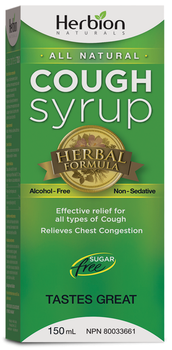 Herbion Cough Syrup Sugar Free