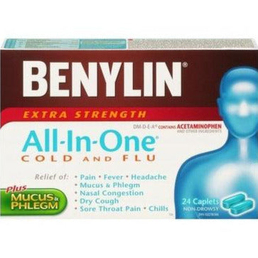 Benylin All-In-One Extra Strength Cold & Flu - Day