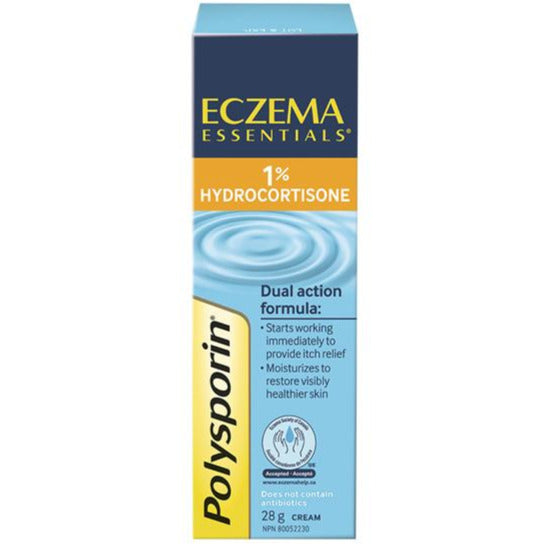 Polysporin Eczema Essentials 1% Hydrocortisone Anti-Itch Cream