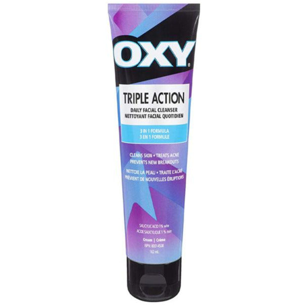 Oxy Triple Action Daily Facial Cleanser