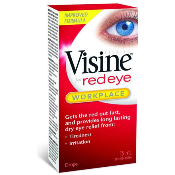 Visine for Red Eye - Workplace