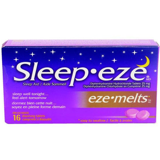 Sleep-eze Eze-Melts Dissolving Tablets
