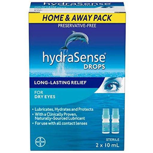 HydraSense Eye Drops For Dry Eyes