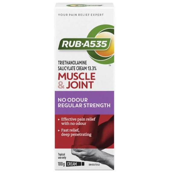RUB A535 Muscle & Joint No Odour Regular Strength Cream