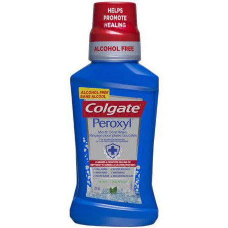 Colgate Peroxyl Mouth Sore Rinse - Mild Mint