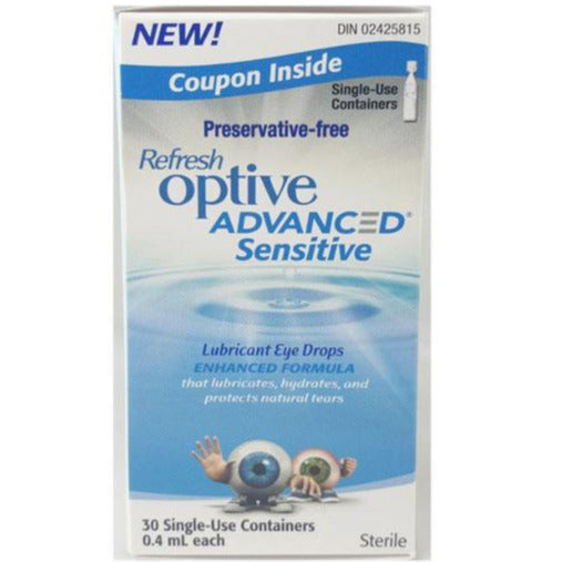 Refresh Optive Advanced Sensitive - Preservative Free