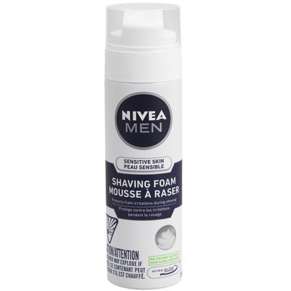 Nivea Men Sensitive Skin Shaving Foam
