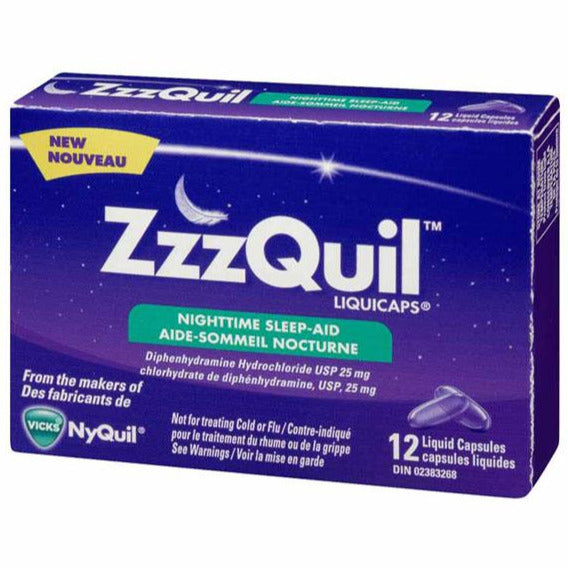 ZzzQuil Sleep-Aid Liquicaps