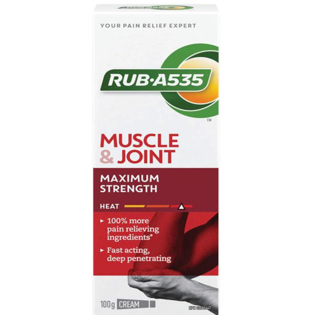 RUB A535 Muscle & Joint Maximum Strength Heat Cream