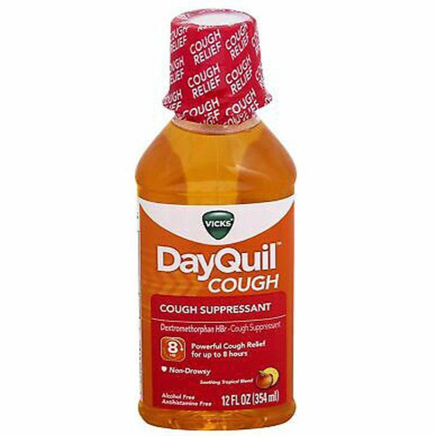 Vicks DayQuil Cough - Soothing Tropical Blend