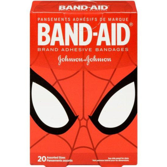 Band-Aid Spiderman Bandages