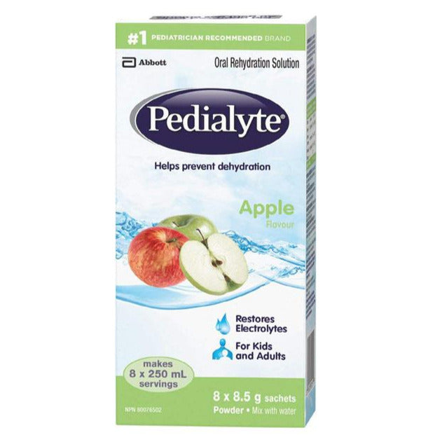 Pedialyte Oral Rehydration Solution - Apple Powder