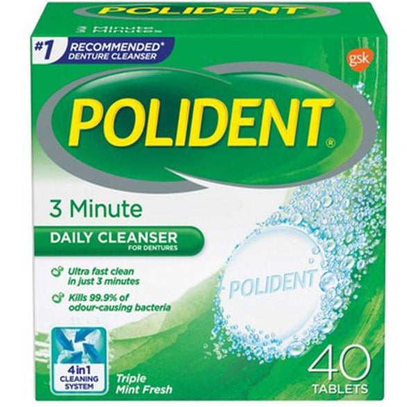 Polident 3 Minute Daily Cleanser