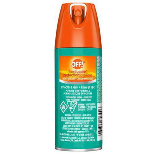 OFF! FamilyCare Insect Repellent Aerosol Smooth & Dry