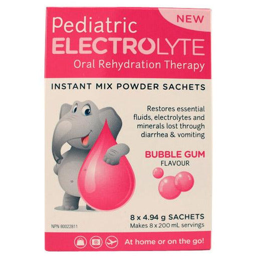 Pediatric Electrolyte Powder - Bubblegum