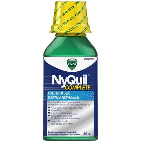 Vicks Nyquil Complete Cold & Flu - Original