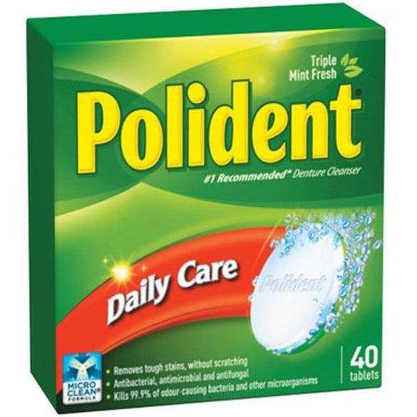 Polident Daily Care Daily Cleanser
