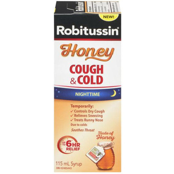 Robitussin Honey Cough & Cold Nighttime