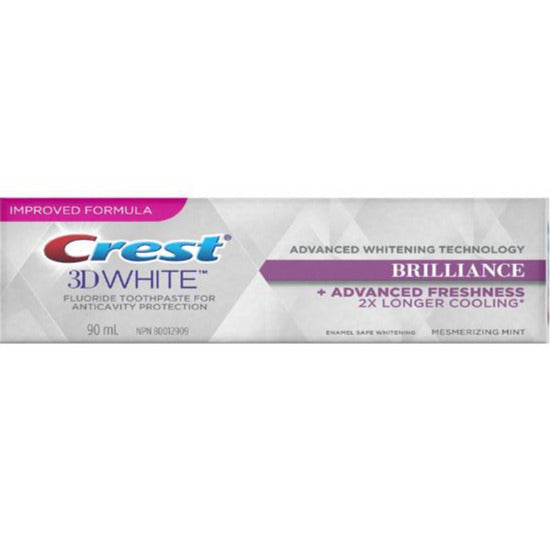 Crest 3D White Brilliance Toothpaste - Mesmerizing Mint