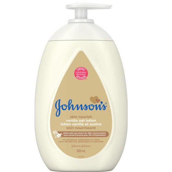 Johnson's Skin Nourish Vanilla Oat Lotion
