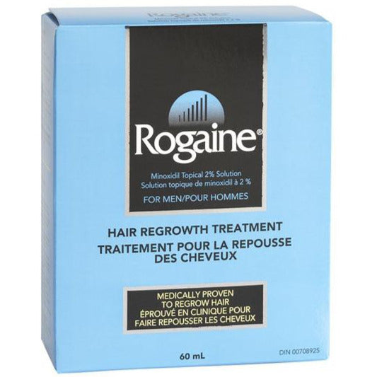 Men's Rogaine 2% Minoxidil Topical Hair Regrowth Treatment