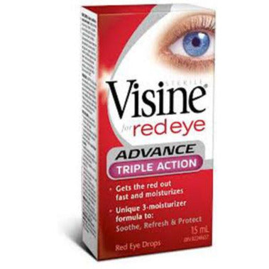 Visine Advance Triple Action Red Eye