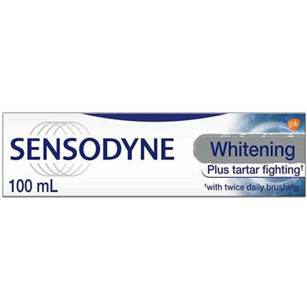 Sensodyne Whitening Plus Tartar Fighting Toothpaste