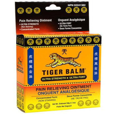 Tiger Balm Pain Relieving Ointment - Ultra