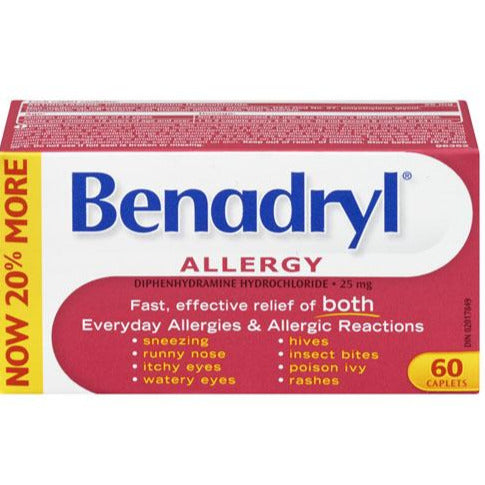 Benadryl Allergy 25 mg