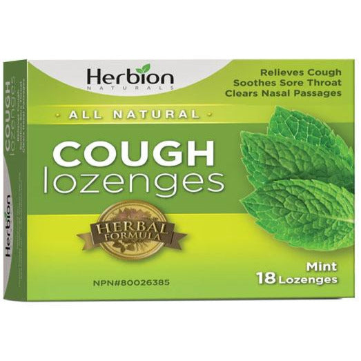 Herbion Cough Lozenges - Mint