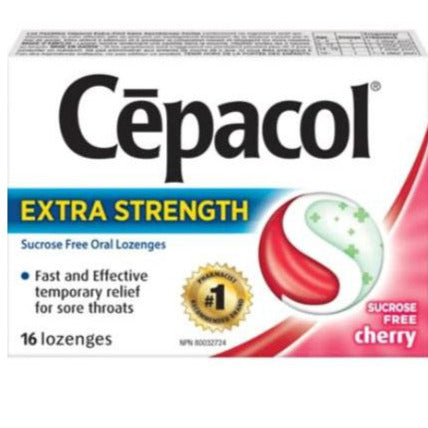 Cepacol Extra Strength Sugar Free Lozenges - Cherry