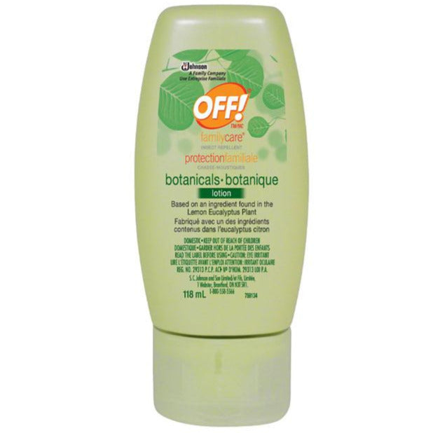 OFF! FamilyCare Botanicals Insect Repellent Lotion