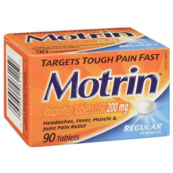 Motrin 200 mg Regular Strength